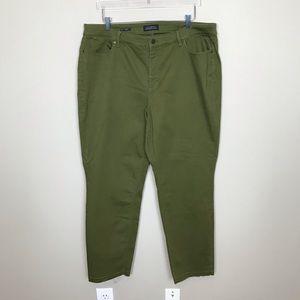 Talbots Dark Olive Jeans